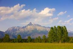 Krivan, Vysoke Tatry & x28;High Tatras& x29;, Slovakia. Outdoor, outdoors, outside, exterior, exteriors, europe, central, republic, czechoslovakia, tatransky stock images