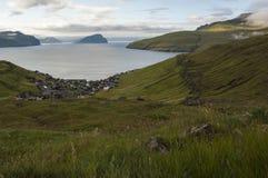 Krivik в Фарерских островах Стоковое Фото