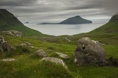 Krivik in the Faroe Islands Royalty Free Stock Photo