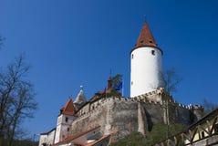 krivoklat замока Стоковое Фото
