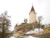 Krivoklat Castle. Bohemia. Czech Republic Royalty Free Stock Image