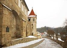 Krivoklat Castle. Bohemia. Czech Republic Royalty Free Stock Images
