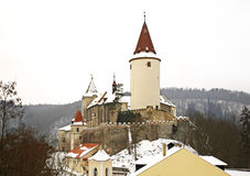 Krivoklat Castle. Bohemia. Czech Republic Royalty Free Stock Photo