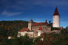 Krivoklat castle, Czech republic Royalty Free Stock Photo