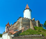 Krivoklat Castle in Czech Republic Stock Photography