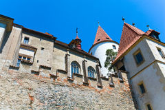 Krivoklat Castle in Czech Republic Royalty Free Stock Photo