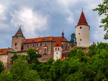 Krivoklat Castle Royalty Free Stock Images