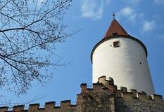 krivoklat de château image stock