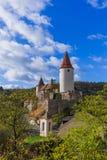krivoklat grodowa czeska republika obraz royalty free