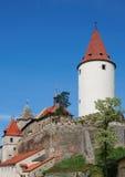 Krivoklat-Schloss Lizenzfreies Stockfoto