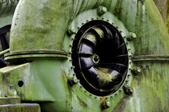 Krizik turbina fotografia stock