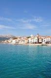 krk острова Хорватии baska стоковая фотография