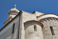 Krk Cathedral Stock Images