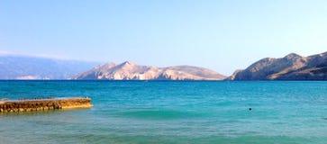 KRK - CRES islands - Croatia Stock Images