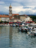 Krk Croatie Photo libre de droits