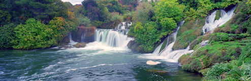 Krk falls Croatia Royalty Free Stock Images