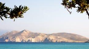 KRK-Insel - Kroatien stockbild
