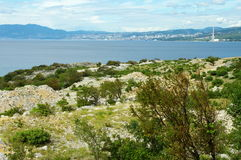 Krk Insel, Kroatien Stockfotos
