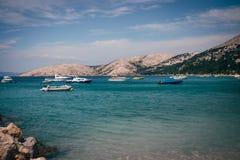 Krk-Insel Kroatien Adria Lizenzfreies Stockfoto