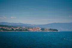 Krk-Insel Kroatien Adria Stockfotos