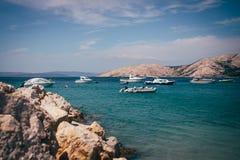 Krk-Insel Kroatien Adria Lizenzfreie Stockfotografie