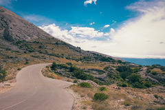 Krk-Insel Kroatien Adria Stockfoto