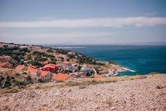Krk-Insel Kroatien Adria Lizenzfreies Stockbild
