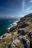 Krk island coastline Croatia Royalty Free Stock Images