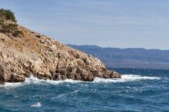 Krk island, Croatia. Royalty Free Stock Images