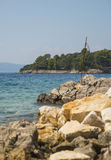 Krk island, Croatia Stock Photography