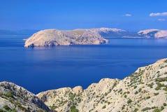 Krk. Island in Kvarner Gulf, Croatia royalty free stock images