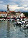 Krk Kroatië Royalty-vrije Stock Foto