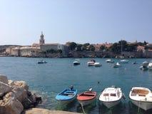 Krk, Kroatien Lizenzfreie Stockfotos