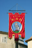Krks city flag Royalty Free Stock Image