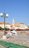 Krk Stadt, Krk Insel, Kroatien Lizenzfreies Stockfoto