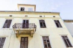 Krk town architecture, Croatia royalty free stock photos