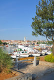 Krk Town,Krk Island,Croatia Stock Photography
