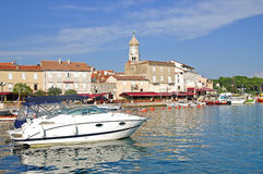Krk Town,Krk Island,Croatia Stock Images