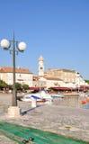 Krk Town,Krk Island,Croatia Royalty Free Stock Photo