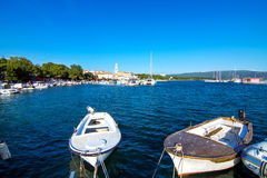 Krk town on Krk island Royalty Free Stock Photography
