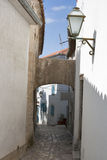 Krk town narrow street Stock Photo