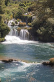Krka国家公园瀑布  库存照片
