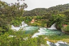 Krka国家公园 免版税图库摄影