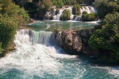 Krka瀑布 库存照片