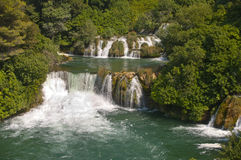 Krka. National Park in Croatia Royalty Free Stock Photo