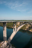 Krka bridge Royalty Free Stock Photography