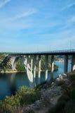 Krka bridge Royalty Free Stock Image