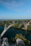 Krka bridge Royalty Free Stock Photo