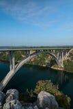Krka bridge Royalty Free Stock Photo