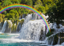 krka croatia wodospadu Fotografia Stock